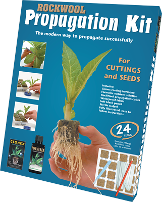 Rockwool Propagation Kit