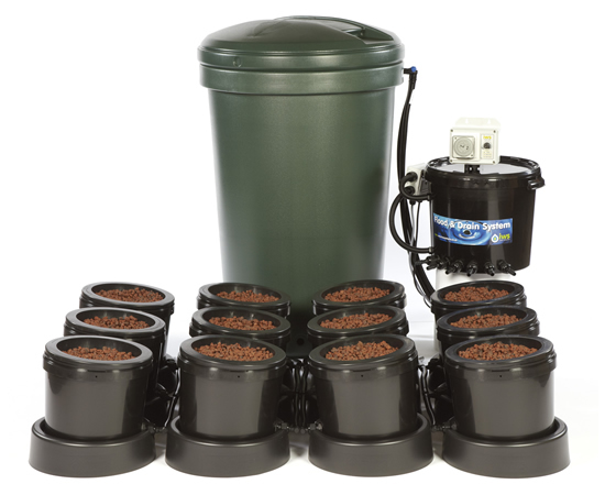 Iws Flood & Drain 12 Pot