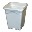 "Square White Heavy Duty Pot 9"" (7.5L)"