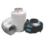 RAM & PHAT Air Kit (386m3/hr) - PHAT Filter 125x300, 5m Ducting,