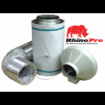 200x600 Kit 10m silver Rhino Ducting Kit