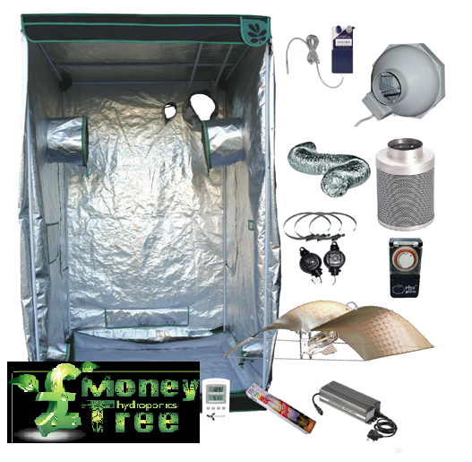 Hydrogarden 2.4 x 1.2 Beginner Grow Tent Kit