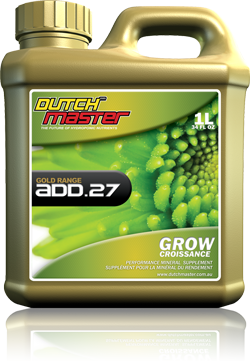 Dutch master Gold Range ADD.27 Grow