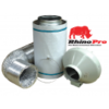 125x300 Kit 5m silver Rhino Ducting Kit