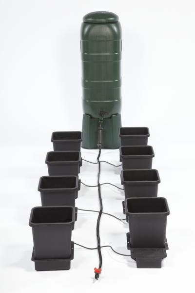 AutoPot 8 Pot System - Includes 100 litre water butt and stand