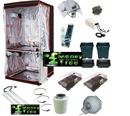 BloomRoom Mother and Clone Tent Kit