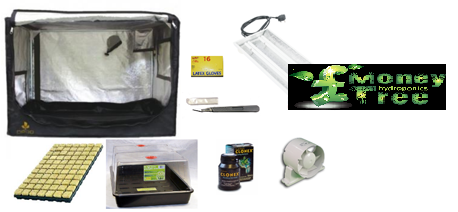 Clone and Seedling Tent Kit